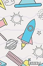 Agenda: Agenda Giornaliera A5 Settimanale Planner con schema verticale per obiettivi , appuntamento e progetti - 12 mesi -...