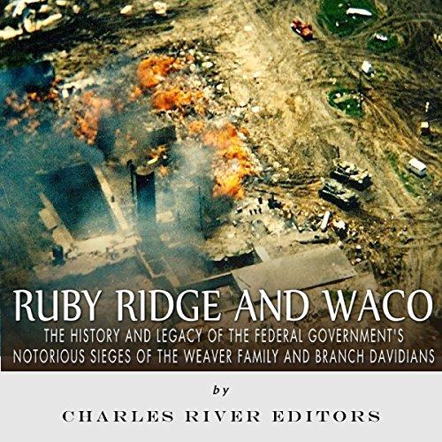 Ruby Ridge and Waco audiobook cover art