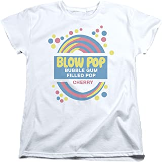Tootsie Roll Chocolate Candy Blow Pop Label Vintage Style Women's T-Shirt Tee