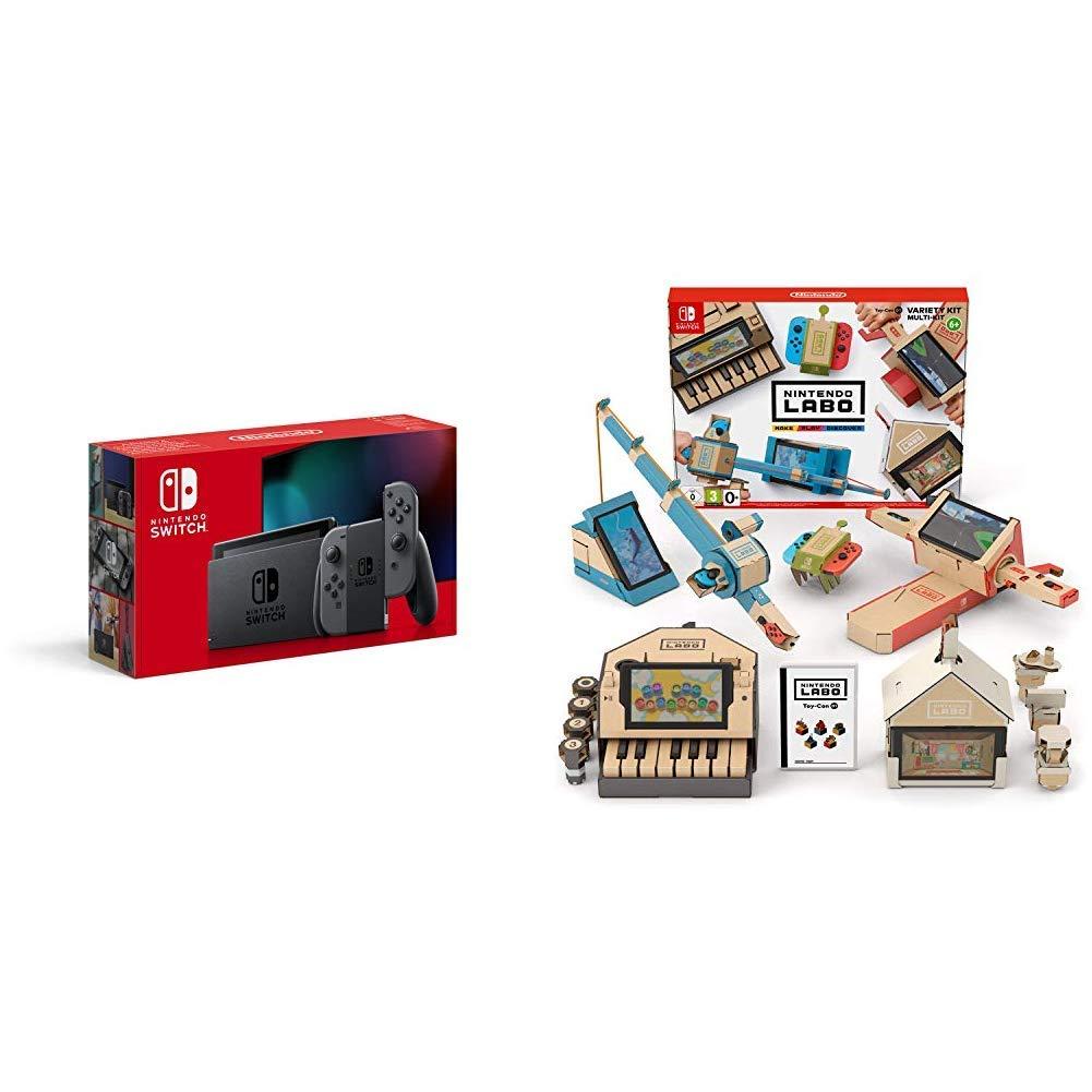 Nintendo Switch - Consola color Gris (Modelo 2019) + Labo: Toy-Con ...