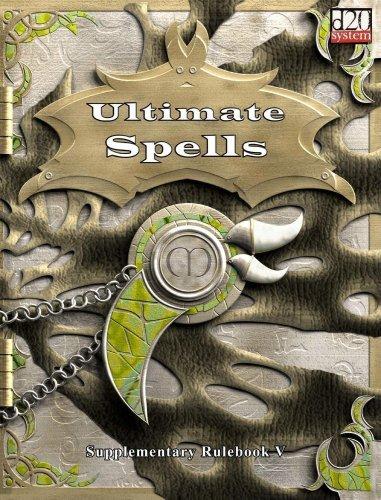 The Ultimate Arcane Spellbook by Matthew Sprange (2003-08-26)
