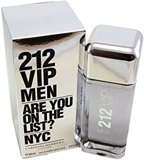 212 Vip By Carolina Herrera Eau De Toilette Spray 6.8 Oz (Packaging may vary)