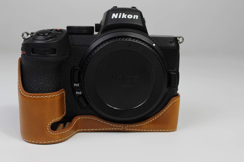 Zakao Kameratasche Für Nikon Z5 Z6 Z7 Echtes Leder Kamera