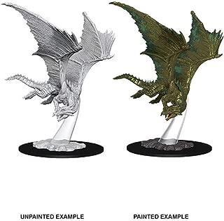 D&D Nolzur`s Miniatures: W9 Young Bronze Dragon