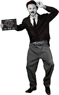 Morphsuits Men's Morphcostume Co Silent Movie Star 1920S Male Costume
