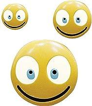 قوالب صناعة الحلوى السعيد إيموجي 90-99703 من سي كيه بروداكتس، 22.86 سم × 15.24 سم، لون شفاف