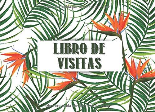 Libro de Visitas: Libro de registro para los visitantes   Para el alquiler de casas de vacaciones, Hotel, Restaurante, Casa rural, AirBnB, Propiedades ... de Huéspedes   Bonito regalo de cumpleaños