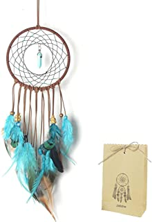Dream Catcher for Kids Bedroom Decal Turquoise Stone Handmade Large Dreamcatcher