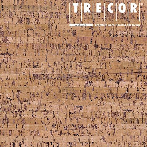 """Korkboden TRECOR Korkfertigparkett\""""MAZARA\"""" mit Klicksystem   Oberfläche: Keramiklackierung   Stärke: 10,5 mm - 3 mm Nutzschicht - Format: 905 x 295 mm - Sie kaufen 1 m²"""