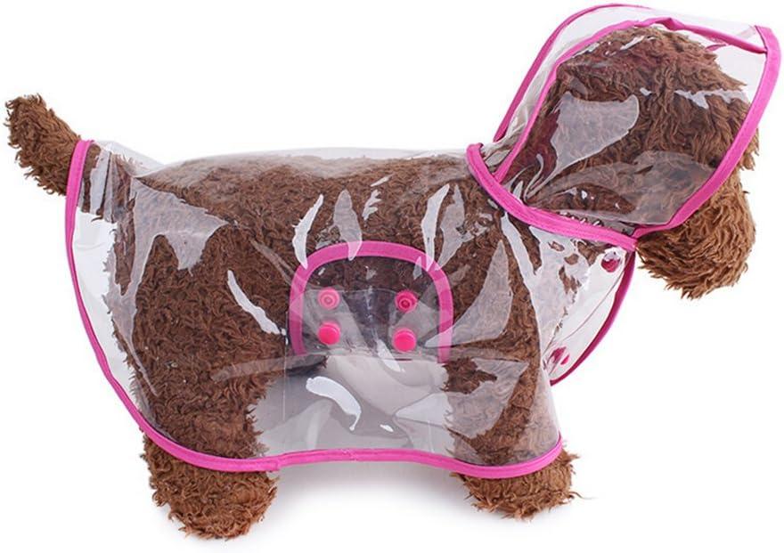OULII Mascota Perro Impermeables Chubasqueros Tama/ño M