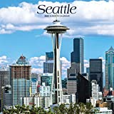 Seattle 2020 12 x 12 Inch Monthly Square Wall Calendar, USA United States of America Washington Pacific West Coast City (English, Spanish and French Edition)