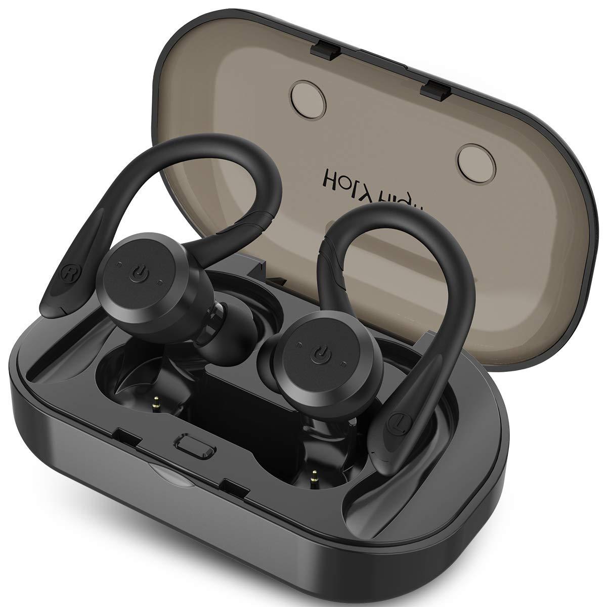 HolyHigh Bluetooth Waterproof Sweatproof Headphones