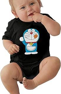 Newborn Clothes Doraemon Baby Onesies Cotton Short-Sleeve