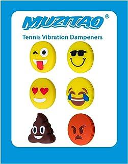 Muzitao Tennis Vibration Dampeners (6 Pack)