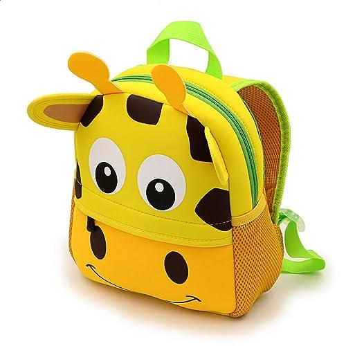 47938a2bd7 IGNPION Nursery Kids Backpacks Toddle Children School Bag Zoo Lunch Bag 3D  Cute Animal Cartoon Preschool