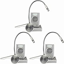Retekess TW102 Window Speaker System Bank Window Intercom Dual Way Window Microphone and Speaker System 3W/3W Anti-Interference Bank Intercom 3 Pack