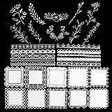 30pcs Papel Decorativo Scrapbooking Vintage Decoración Material de Scrapbooking Diario Papel Estilo Retro Bullet Journal Cartulina DIY Manualidad