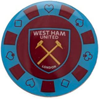 West Ham United F.C. Poker Chip Badge Official Merchandise by West Ham United F.C.