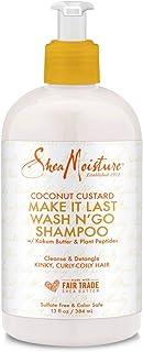 SheaMoisture Coconut Custard Make It Last Wash N' Go Shampoo 13 fl oz, pack of 1