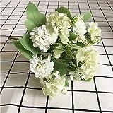 GCVHG Fleur Artificielle Mini Bouquet Di Ortensie Fiori Artificiali Decorazione Della Tavola Di CASA Primavera Fiori Di Seta Fiori Artificiali Fleur Artificielle