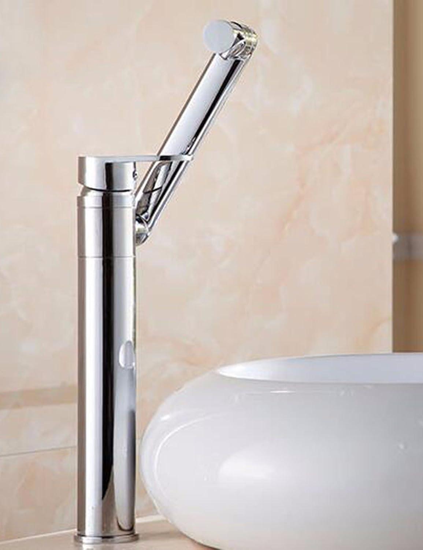 LHboxGesundheit des gesamtenWasserhahn Waschbecken Oberflche Waschbecken Wasserhahn heie und Kalte Waschbecken Badezimmer Schrank Wasserhahn Waschbecken Einloch Mischbatterie Einzigen Griff B