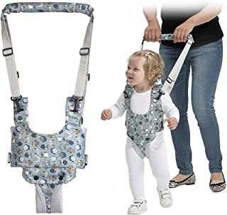 Mumoo Bear Baby Walking Harness, Hand-held Toddler Walking Assistant, Standing up and Walking Learning Helper Protective B...