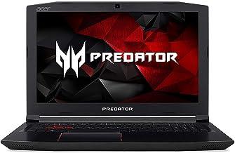"Acer Predator Helios 300 Gaming Laptop, 15.6"" Full HD IPS, Intel Quad Core i7 Processor, 32GB DDR4 RAM, 256GB SSD, GeForce..."