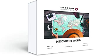 Discover The World - Travel Package for 2 - Experience Gift Card NYC - GO DREAM - Sent in a Gift Package