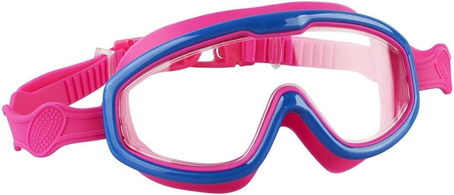 JYDZSW Gafas de natación Niños Nadar Gafas niños niñas Nadando Gafas Impermeables UV protección Anti-Niebla Gafas Deportivas Gafas (Color : D)