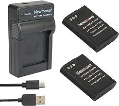 Newmowa EN-EL23 Reemplazo Batería (2-Pack) y Kit Cargador