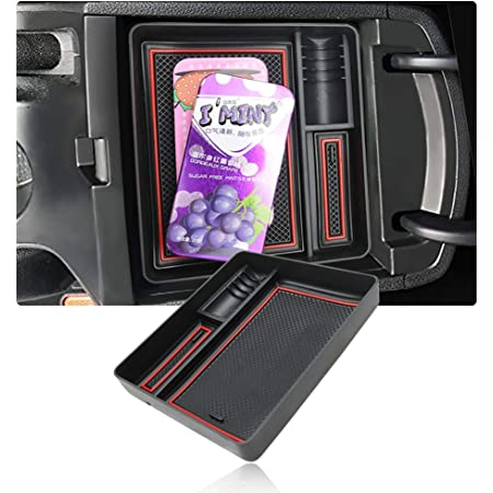 Jiahe Aufbewahrungsbox F/ür K IA KX7 Auto Konsole Armlehne Tablett Halter H/ülle Palette rutschfeste Handschuhfach Storage Box Innen