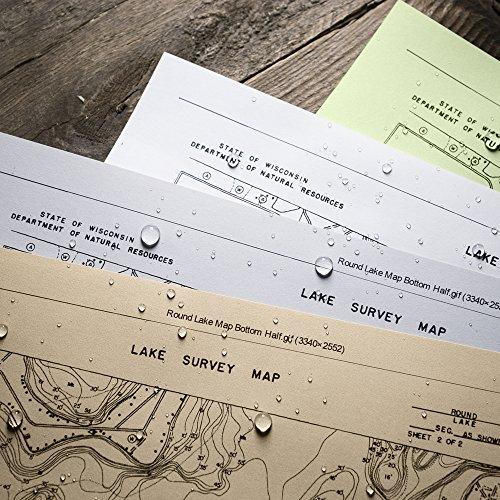"Rite In The Rain Weatherproof Copier Paper, 11"" x 17"", 20# White, 200 Sheet Pack (No. 8517)"