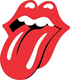 Rolling Stones Tounge - Vinyl Sticker Decal - Full Color CAD Cut Car logo (3