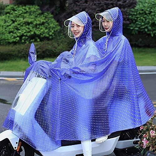 ZXL Regenjas, lichte multifunctionele regenjas voor motor, waterdichte outdoor-regenjas voor 2019 poncho regenjas voor volwassenen, poncho regenkleding, ondoorlaatbare dames