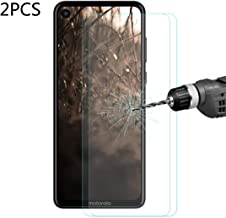 Good 2 PCS ENKAY Hat-Prince 0.26mm 9H 2.5D Curved Edge Tempered Glass Film for Motorola P40 Junfat