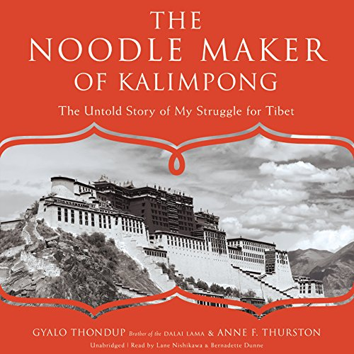 The Noodle Maker of Kalimpong audiobook cover art