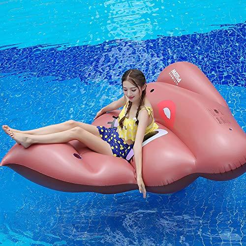 Lunch box Aufblasbares Schwimmruderboot, Große PVC Außenpool Float Toy Fluss Raft Strandliege Für Erwachsene Kinder
