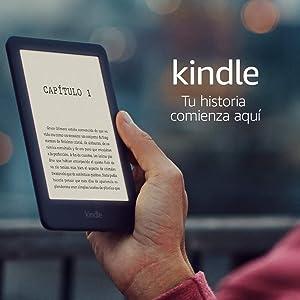 E-reader Kindle, ahora con una luz frontal, color Negro, 10ª generación - 2019
