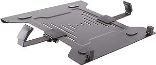 DRALL INSTRUMENTS Laptop Halterung Adapterplatte schwarz an Wandhalterung Tischhalter Halterplatte VESA 100 für Notebook Netbook Tablet PC Mediaplayer Modell: IP27B