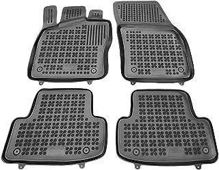   Accesorios Coche Alfombrilla Suelo + Limpiador de Plasticos Rezaw-Plast Alfombrillas de Goma Compatible con Nissan Pulsar Regalo Desde 2014