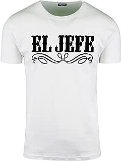 El Jefe Mens T Shirts The Boss Tee Funny Mexican Humor