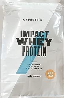 マイプロテイン Impact ホエイプロテイン 5kg (限定フレーバー) ミルクティー