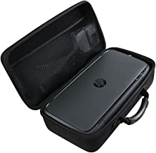 Hermitshell Hard EVA Travel Black Case fits HP OfficeJet 250 All-in-One Portable Printer Wireless & Mobile Printing (CZ992A)