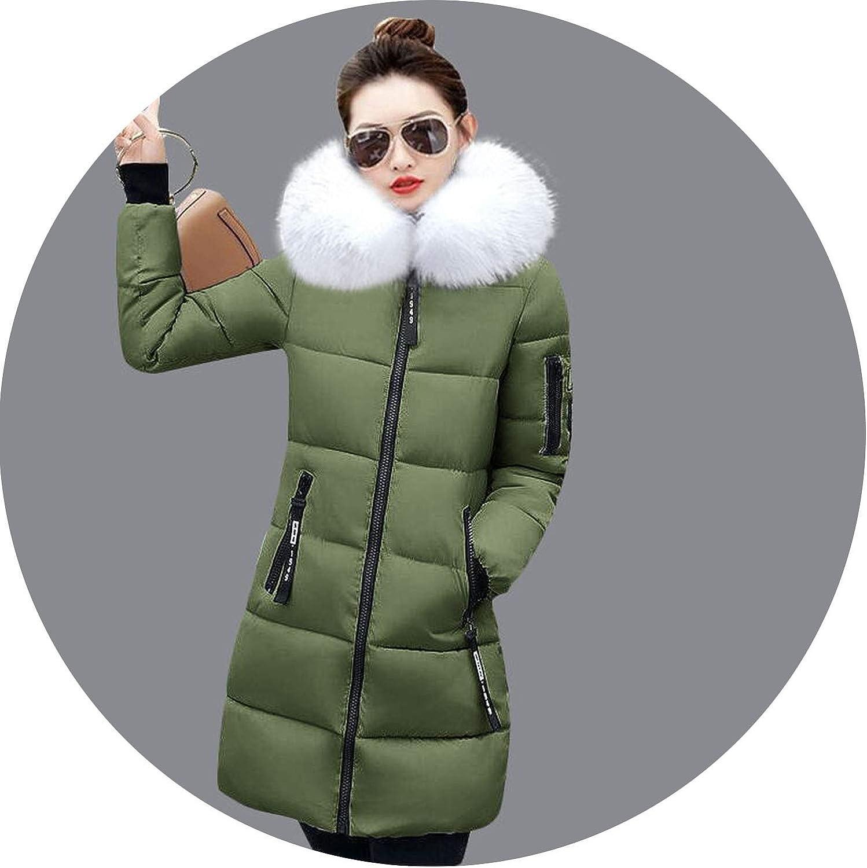 Winter Long Jacket Fashion Winter Coat Women Thicken Warm Hooded Winter Jacket Parkas