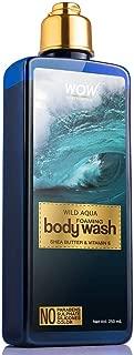 WOW Wild Aqua Foaming Body Wash - No Parabens, Sulphate, Silicones & Color - 250mL