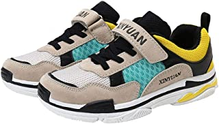 Hopscotch Boys PU Text Print Shoes in Green Color
