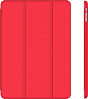 JETech Case for iPad Mini 1 2 3 (NOT for iPad Mini 4), Smart Cover with Auto Sleep/Wake, Red
