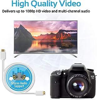 Promate Linkmate-H2 Mini HDMI to HDMI Cable - White