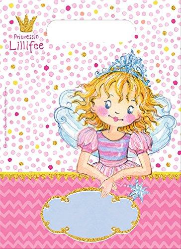 Prinzessin Lillifee 8 Partytüten Kindergeburtstag und Mottoparty // Mitgebsel Tüten Geschenktüten Kinder Geburtstag Princess Pink Rosa Mädchen