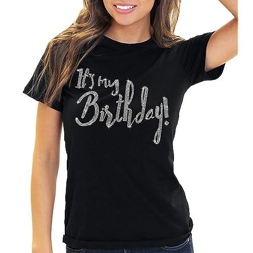 Womens Its My Birthday T Shirt Tote